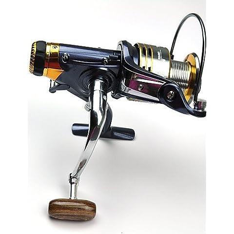 ZQ fddl ® 11 bb anteriore doppio freno / posteriore di resistenza Spinning Reel carpa linea di pesca rotella 5000