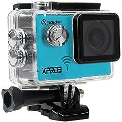 TecTecTec XPRO3 Caméra Sport 4K- Camera de Sport et Action étanche avec écran Couleur LCD - Caméra embarquée WiFi Full HD HD 4K