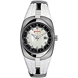 Pirelli 7951101855 Women Quartz Watch (Rechargeable) quandrante Steel Mother of Pearl Strap CAUCCIU '