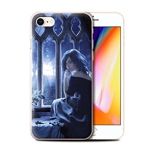 Offiziell Elena Dudina Hülle / Case für Apple iPhone 8 / Pack 7pcs Muster / Liebe Kunst Kollektion Getrocknete Blätter