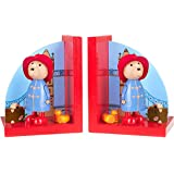 Orange Tree Toys : serre-livres en bois : Ours Paddington