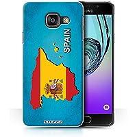 Coque de Stuff4 / Coque pour Samsung Galaxy A3 (2016) / Espagne/Espagnol Design / Drapeau Pays Collection