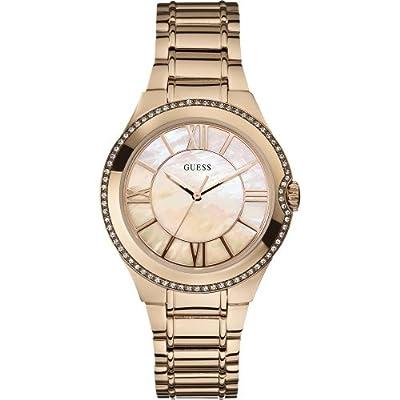 Reloj Guess W15077L1 de cuarzo para mujer con correa de acero inoxidable bañado de Guess