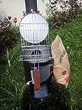 Estufa de leña Estufa de Camping barbacoa de jardín Taller parrilla 5kW