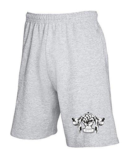 T-Shirtshock - Pantalone Tuta Corto T0404 Japan Karate Federation arti marziali, Taglia S
