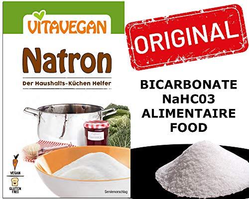 Bicarbonato Di Sodio alimenticio ecologico Formula Alimenticia