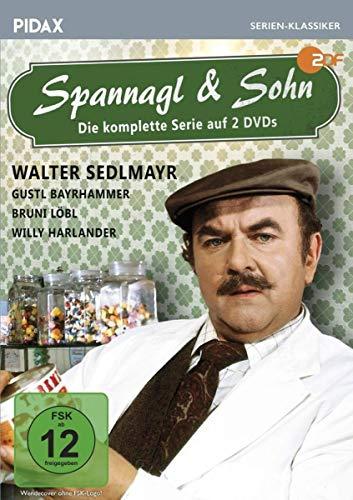 Spannagl & Sohn / Die komplette 13-teilige Kultserie mit Starbesetzung (Pidax Serien-Klassiker)[2 DVDs]