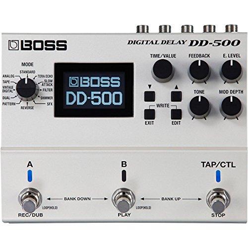 BOSS dd-500Digital Delay guitarra eléctrica Pedal de Efectos DD500