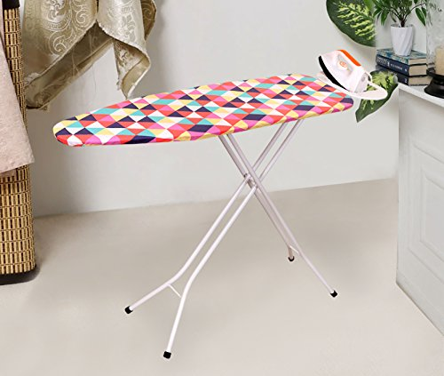 Magna Homewares Steel Rigel Ultra Durable Premium Ironing Board, Large (Multicolour)