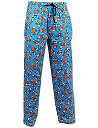 Hommes Flintstones Pantalons de Détente | Hommes Flintstones Pyjama | Size Small