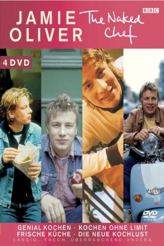 Jamie Oliver - The Naked Chef: 4 DVD Box