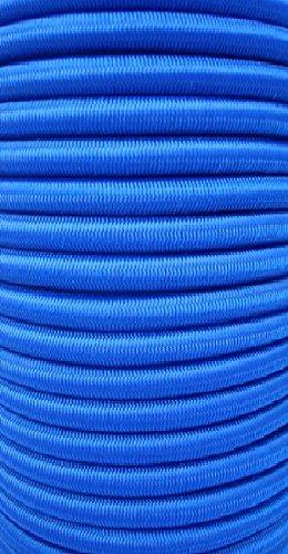 20m Expanderseil 10mm blau Gummiseil Planenseil Spannseil Seil Plane …