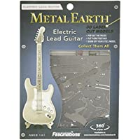 Fascinations-Metal-Earth-MMS074-502730-Electric-Lead-Guitar-Konstruktionsspielzeug-1-Metallplatine-ab-14-Jahren Fascinations Metal Earth MMS074 – 502730, Electric Lead Guitar, Konstruktionsspielzeug, 1 Metallplatine, ab 14 Jahren -
