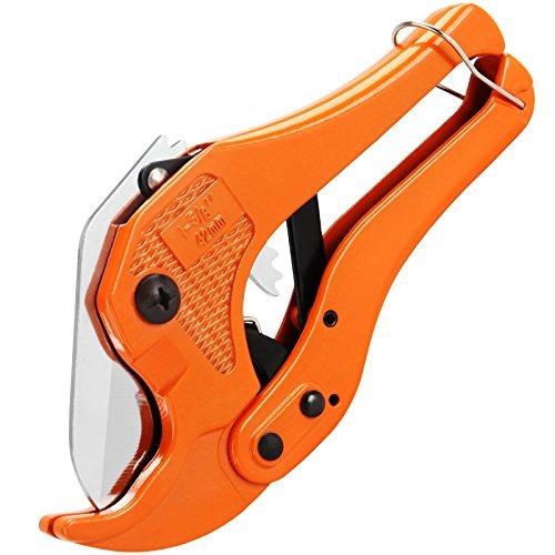 Pvc Pipe Cutter (PVC-Rohrschneider für Rohre mit Ø bis 42 mm Rohrabschneider Schlauchschneider Rohrschere)