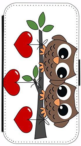 Flip Cover für Apple iPhone 4 / 4s Design 394 Eifelturm Paris Frankreich bei Nacht Blau Gelb Hülle aus Kunst-Leder Handytasche Etui Schutzhülle Case Wallet Buchflip (394) 405