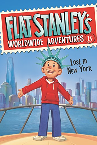 Flat Stanley's Worldwide Adventures #15: Lost in New York (English Edition) 15 Flat-serie