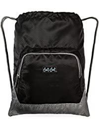 Gymsack Drawstring Bag - Water Resistant And Lightweight Backpack With Drawcord Closure - Suits Men And Women...