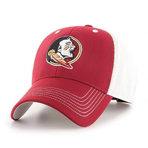 OTS NCAA Sling Star MVP verstellbar Hat, Unisex, NCAA Sling OTS All-Star MVP Adjustable Hat, Scharlachrot Throwback Hat Cap