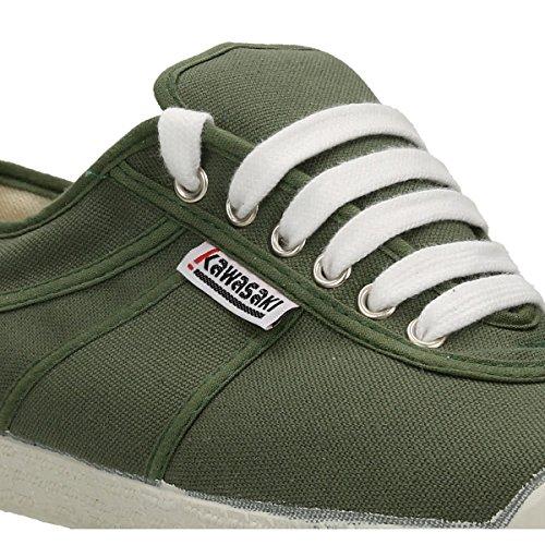 Kawasaki  Rainbow basic,  Unisex Erwachsene Sneakers Grün (Army Green)