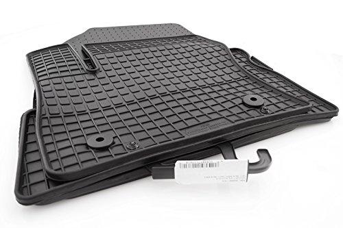 Preisvergleich Produktbild Gummi Fußmatten Ford C-Max / Grand C-Max (2012) Original Qualität Gummimatten 4-teilig