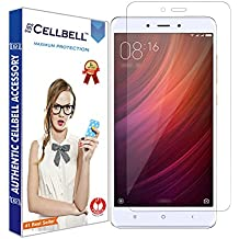 CELLBELL Tempered Glass Screen Protector With Installation Kit for Redmi Note 4
