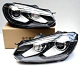 Original Volkswagen VW Ersatzteile VW Xenon + LED Golf 6 VI Scheinwerfer Tagfahrlicht, Original VW