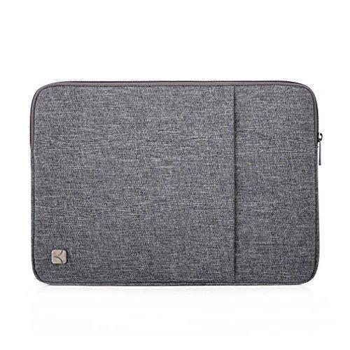 Trendige Military Fashion (CAISON 38,1cm Wasserdicht Laptop Sleeve Fall Notebook Tasche Schutzhülle Skin Cover Apple 38,1cm MacBook Pro mit Retina Display Notebook (Grau))