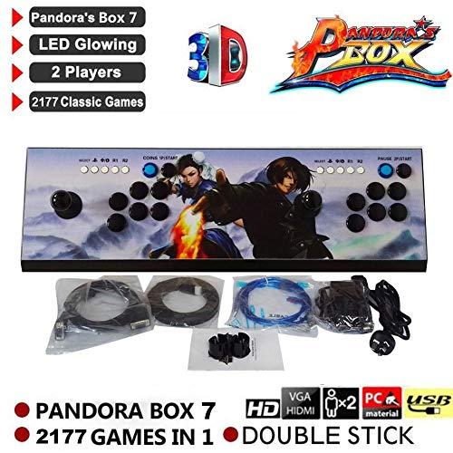 Cherishly 2177 HD Retro Arcade Games Consola – Pandora Key 7 Arcade