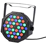 OCADY Luz de Escenario LED, Luces de Etapa Estroboscópica Profesional con 36 LED y 7 Modos de efectos de luz para Bares/ Partido Discoteca Mostrar/ Boda/ Fiesta de Navidad y Thanksgiving day