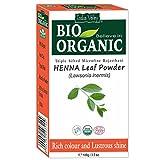 Indisches Naturreines natürliches Hennapulver (Lawsonia Inermis) zertifiziertes Bio-Bio-Microfine-Triple für das Färben von Haaren mit freiem Rezeptbuch 100g