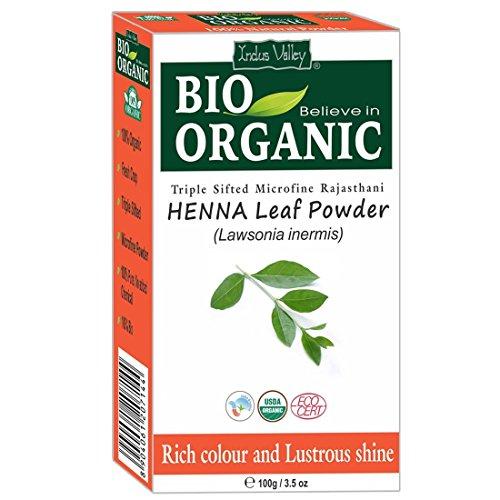 Polvere di hennè naturale puro dellIndo Valley Microfinanza biologica certificata di triplo triplo per la colorazione dei capelli con libro di