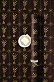 #6: TDB Fireworks Italian Tinted Gift Wrapping paper Pack of 6 Sheets with 12 Gift tags and 6m ribbon/paper rope