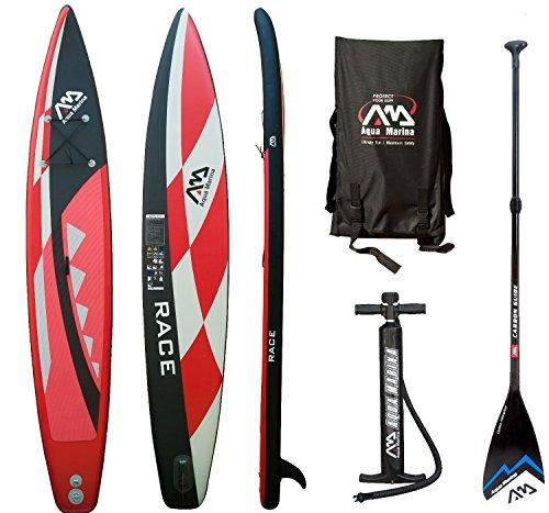 AQUA MARINA RACE SUP Stand Up Paddle Surfboard Carbon F… | 04211058173875
