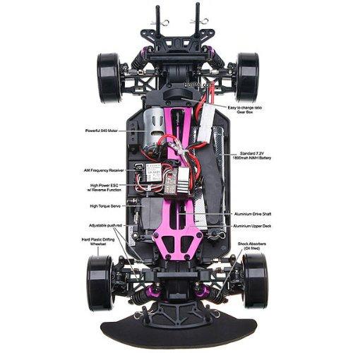 RC Auto kaufen Drift Car Bild 4: Drift Car Flying Fish wassergeschützt*