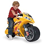 INJUSA-194 Hello Kitty Moto Correpasillos Winner, Color Amarillo, 12m+ (194)