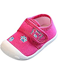 Scarpe per bambini Koly Scarpe per neonati morbidi Sneaker Neonato a 6 Mesi (Pink) PjakYhHXqj