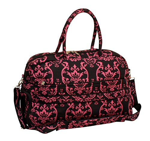 jenni-chan-damask-soft-gym-duffel-pink-one-size