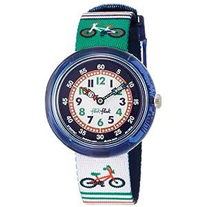 FlikFlak Jungen Analog Quarz Uhr mit Stoff Armband FBNP067