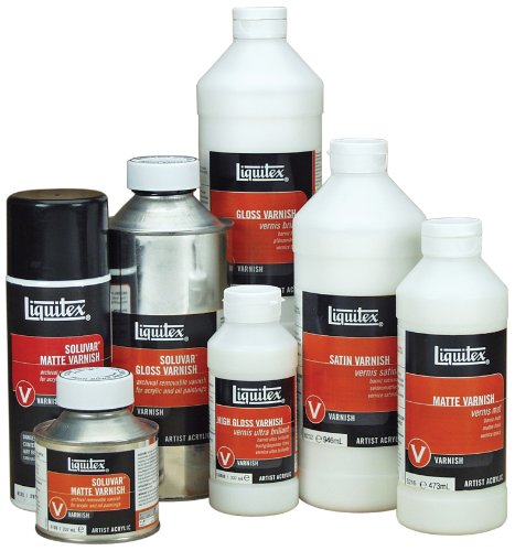 Liquitex Professional High Gloss Varnish, 32-oz