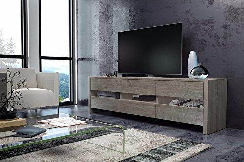 Tv meuble Bright (Sonoma) sans LED