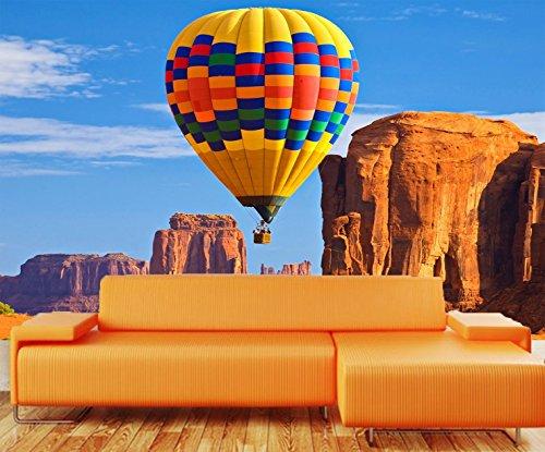 (Startonight Fototapete Kunstdruck Luftballon, Wandbild Großformatige Modern Muster Dekorative Kunst Wand 256 x 366 CM)