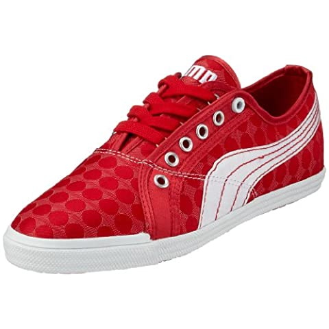 Puma Crete Lo Dot Femmes Baskets -Red-37