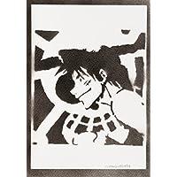 Luffy One Piece Handmade Sreet Art - Artwork - Poster