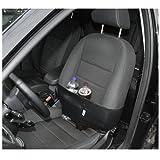 foto-kontor HR 783 Laptop-Power-Strechband Halteband für den Beifahrersitz Schwarz
