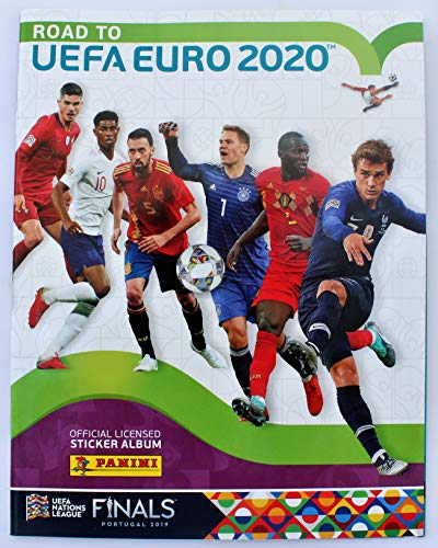 Panini Road to UEFA Euro 2020 - Leeralbum inklusive 6 Gratissticker