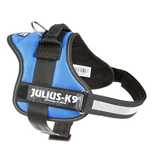 JULIUS-K9, 162B0, K9-Powergeschirr, Größe: 0, Blau
