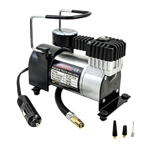 Shiwaki Compresor De Aire Resistente De La Bomba Del Inflado Del Neumático Del Neumático Del Coche De 12v 0-140psi