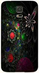 Wonderful multicolor printed protective REBEL mobile back cover for Samsung Galaxy S5 / SM-G900I D.No.N-R-2550-S5