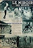MIROIR DES SPORTS (LE) [No 135] du 21/02/1944 - LA CHAMPAGNE ET PARIS - LES FLANDRES ET L'ARTOIS - LE CHAMPIONNAT FEDERAL - R. PUJAZON - RUGBY - ILE-DE-FRANCE CONTRE AUVERGNE-LIMOUSIN - PARIS-NORMANDIE AU PARC - LEDUC - MANDALUNIZ - PATINAGE - PIGIER-MLLE FAYOLLE - PIERRE BRUNET ET MLLE JOLY - ROBERT OUBRON - CYCLISME...