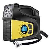 WUAZ Auto-Reifen luftpumpe Intelligente Digitale Display-Reifen Hochleistungs-tragbare 12V-Luftpumpe kann mit 3 Luftdüsen für Autos, LKW, Fahrräder, SUV-Basketball, Motorboot aufblasbar